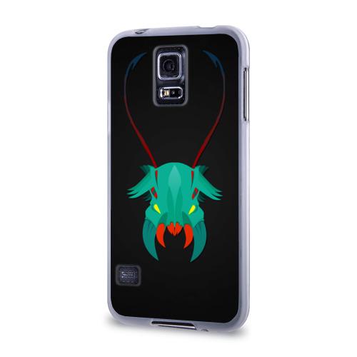 Чехол для Samsung Galaxy S5 силиконовый  Фото 03, Рожки