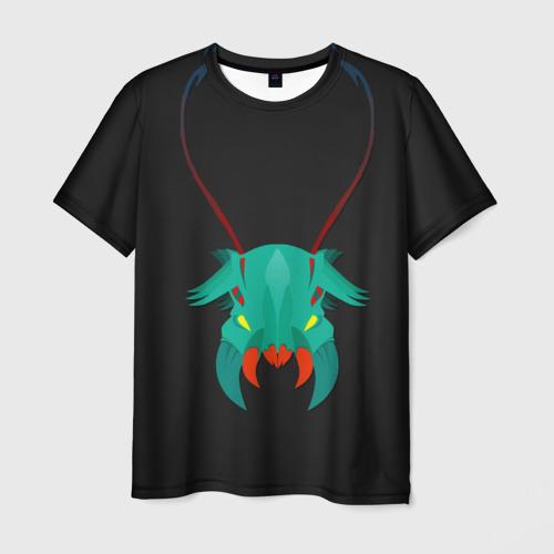 Мужская футболка 3D  Фото 01, Рожки