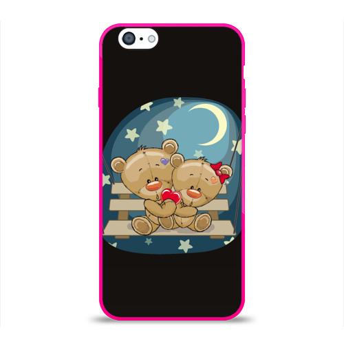 Чехол для Apple iPhone 6 силиконовый глянцевый  Фото 01, Ночь любви
