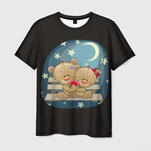Мужская футболка 3D  Фото 01, Ночь любви