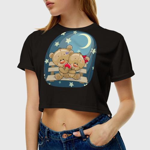 Женская футболка Cropp-top  Фото 01, Ночь любви