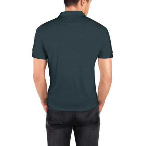 Мужская рубашка поло 3D  Фото 04, Астронавт