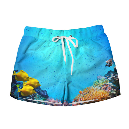 Женские шорты 3D рыбки