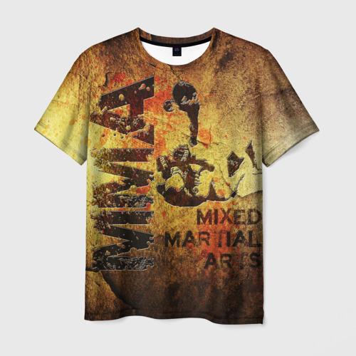 Мужская футболка 3D  Фото 01, MMA