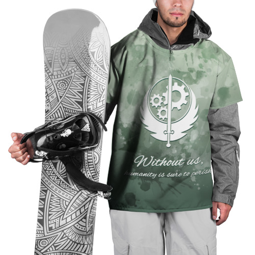 Накидка на куртку 3D  Фото 01, Сила Братства Стали
