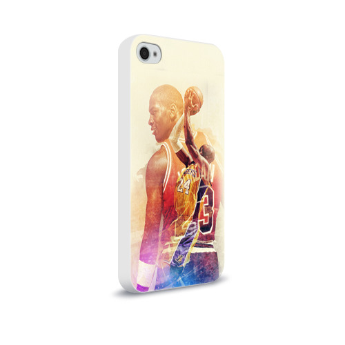 Чехол для Apple iPhone 4/4S soft-touch  Фото 02, Kobe Bryant