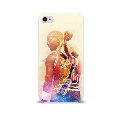 Чехол для Apple iPhone 4/4S soft-touch  Фото 01, Kobe Bryant