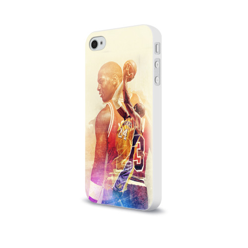 Чехол для Apple iPhone 4/4S soft-touch  Фото 03, Kobe Bryant