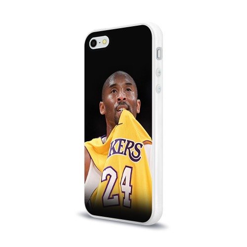 Чехол для Apple iPhone 5/5S силиконовый глянцевый  Фото 03, Kobe Bryant