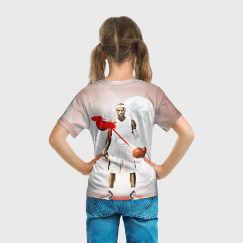 Детская футболка 3D  Фото 04, LeBron James