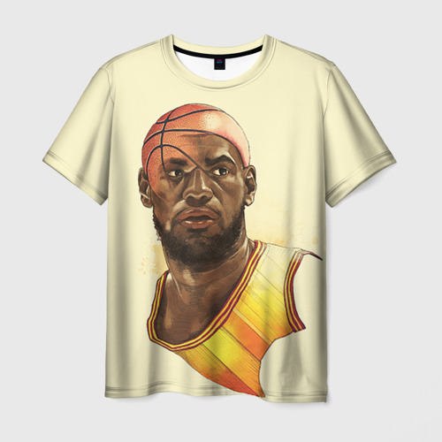 Мужская футболка 3D LeBron James
