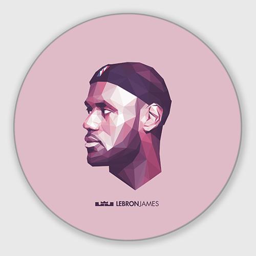 Коврик для мышки круглый LeBron James Фото 01