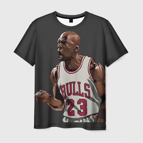 Мужская футболка 3D  Фото 01, Michael Jordan