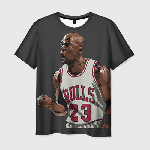 Мужская футболка 3D Michael Jordan