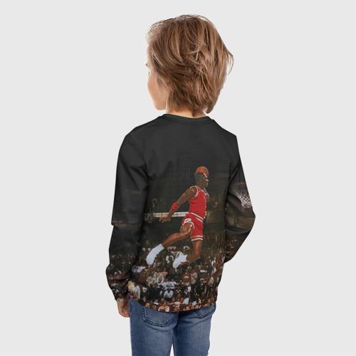 Детский лонгслив 3D Michael Jordan Фото 01