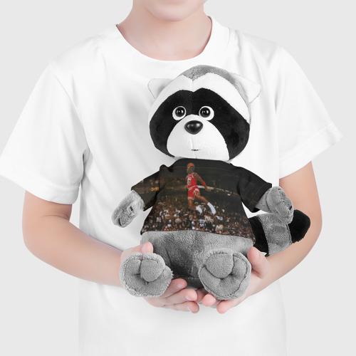 Игрушка Енотик в футболке 3D Michael Jordan Фото 01