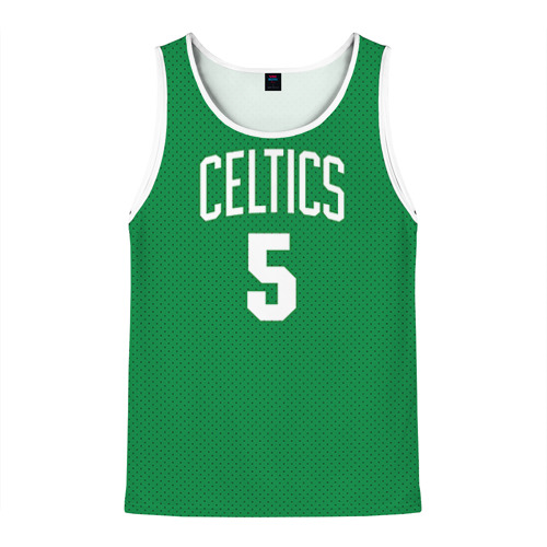 Мужская майка 3D  Фото 01, Boston Celtics 5