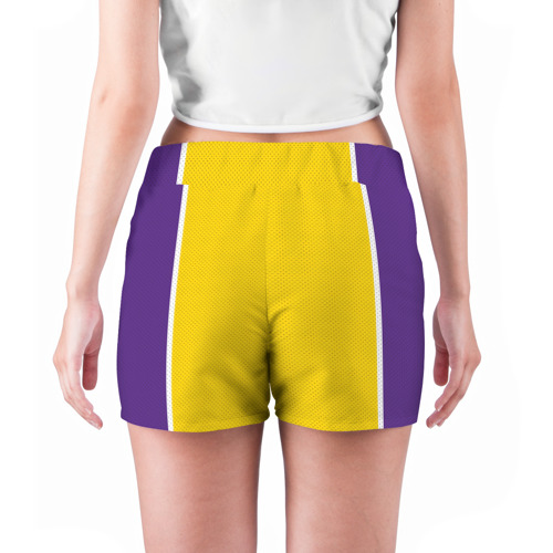 Женские шорты 3D  Фото 04, Lakers