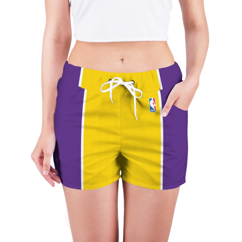 Женские шорты 3D  Фото 03, Lakers