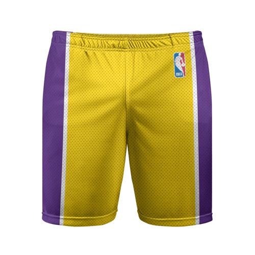 Мужские шорты спортивные Lakers Фото 01