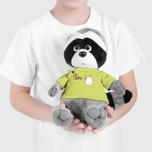 Енотик в футболке 3D  Фото 04, Кролик