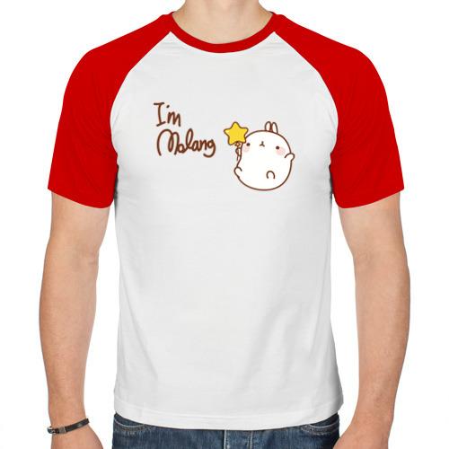 Мужская футболка реглан  Фото 01, Кролик