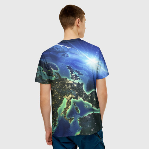 Мужская футболка 3D  Фото 02, Планета