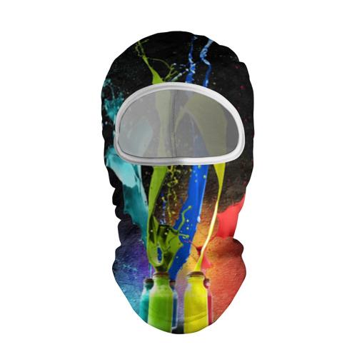 Балаклава 3D  Фото 01, Краски