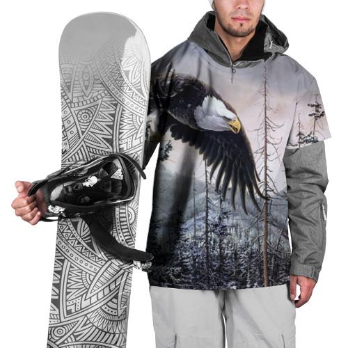 Накидка на куртку 3D Орел XS
