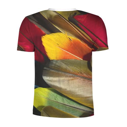 Мужская футболка 3D спортивная  Фото 02, Перья