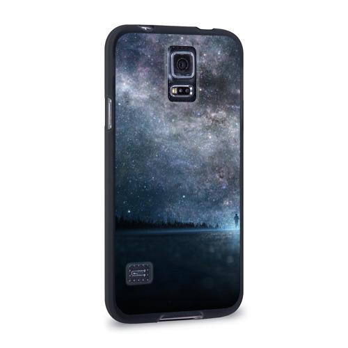 Чехол для Samsung Galaxy S5 силиконовый  Фото 02, Звездное небо