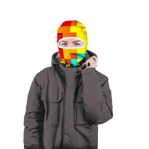 Балаклава 3D  Фото 04, Pixel-Fon