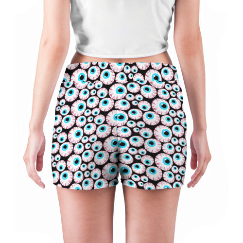 Женские шорты 3D  Фото 04, Глазастик