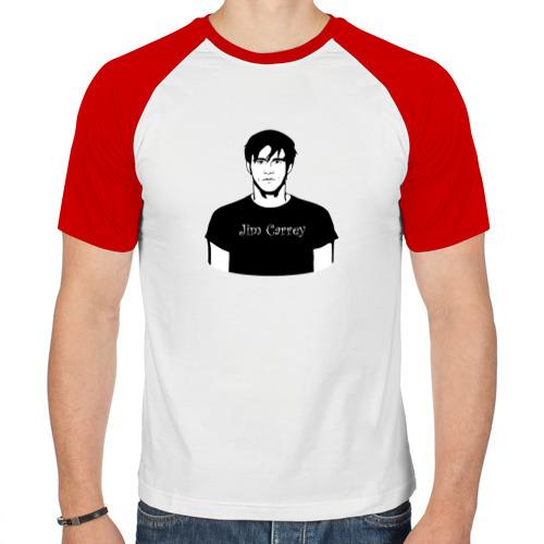 Мужская футболка реглан  Фото 01, Джим Керри / Jim Carrey