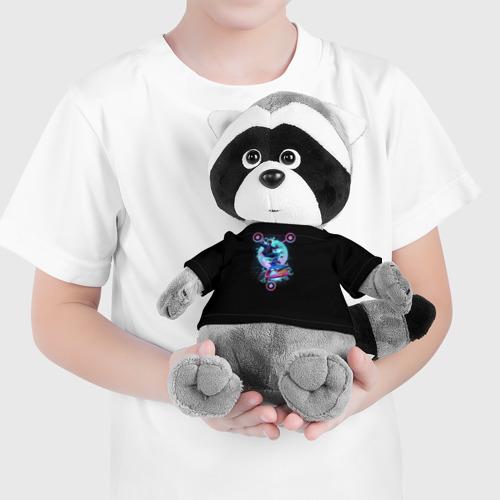 Енотик в футболке 3D  Фото 04, Назад в будущее