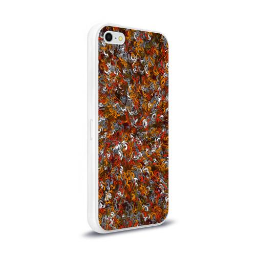 Чехол для Apple iPhone 5/5S силиконовый глянцевый Pueblo people Фото 01