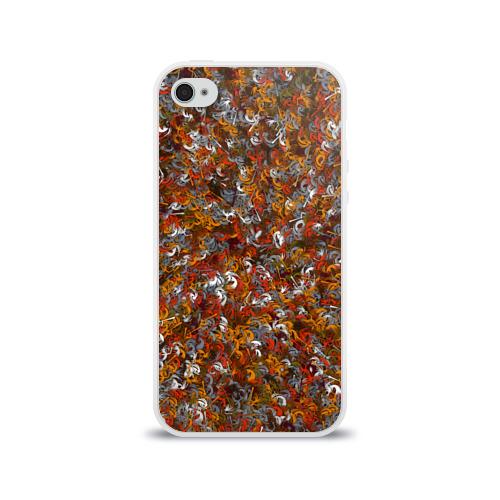 Чехол для Apple iPhone 4/4S силиконовый глянцевый Pueblo people Фото 01
