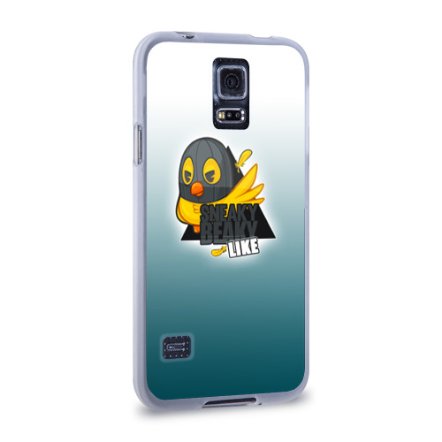 Чехол для Samsung Galaxy S5 силиконовый  Фото 02, Sneaky Beaky Like