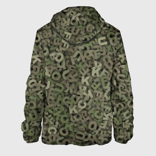 Мужская куртка 3D  Фото 02, Камуфляж с буквами