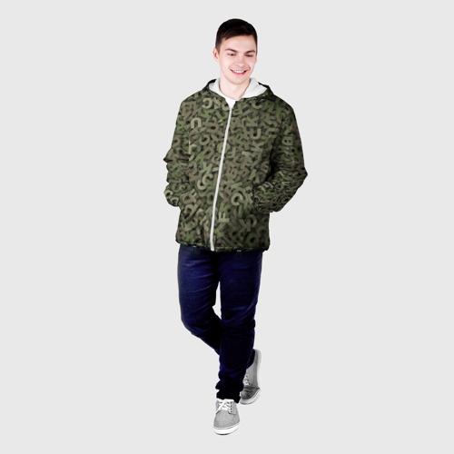 Мужская куртка 3D  Фото 03, Камуфляж с буквами
