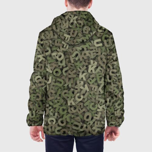 Мужская куртка 3D  Фото 05, Камуфляж с буквами