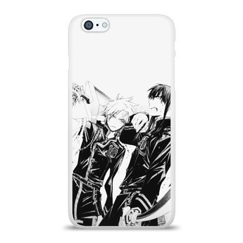 Чехол для Apple iPhone 6Plus/6SPlus силиконовый глянцевый  Фото 01, Аллен и Канда