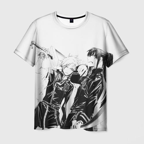 Мужская футболка 3D  Фото 01, Аллен и Канда