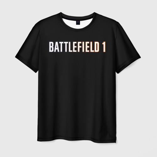 Мужская футболка 3D  Фото 01, BATTLEFIELD 1