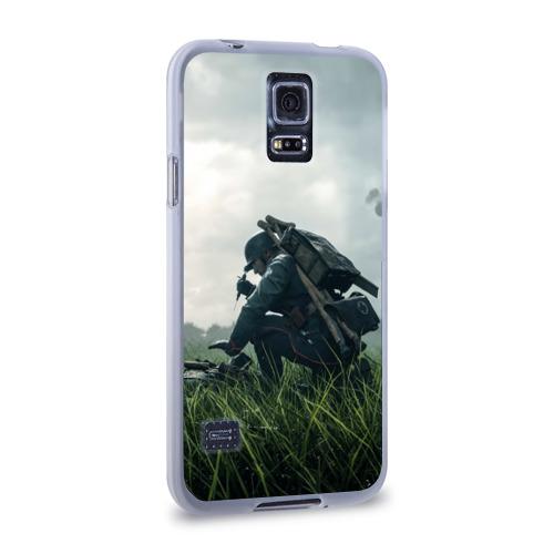 Чехол для Samsung Galaxy S5 силиконовый  Фото 02, BATTLEFIELD 1