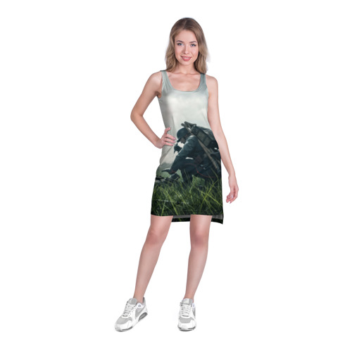 Платье-майка 3D  Фото 03, BATTLEFIELD 1