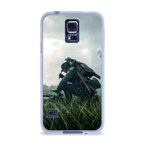 Чехол для Samsung Galaxy S5 силиконовый  Фото 01, BATTLEFIELD 1