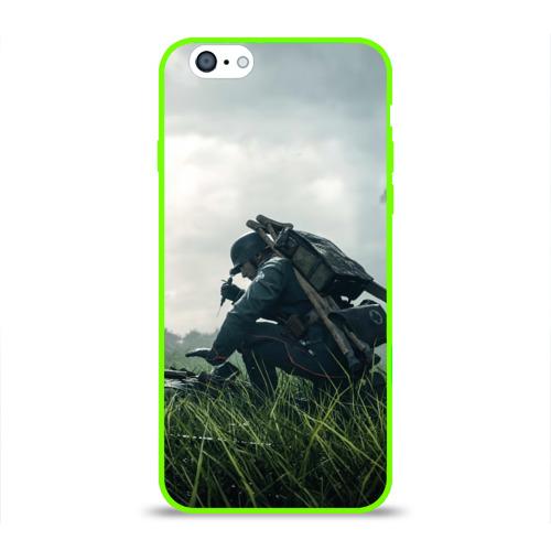 Чехол для Apple iPhone 6 силиконовый глянцевый BATTLEFIELD 1 Фото 01