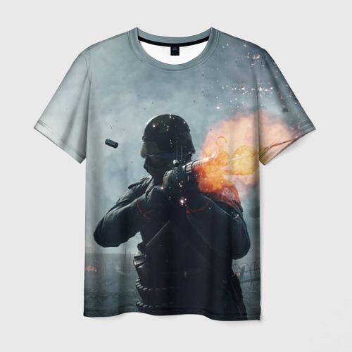 Мужская футболка 3D  Фото 01, батлфилд 1