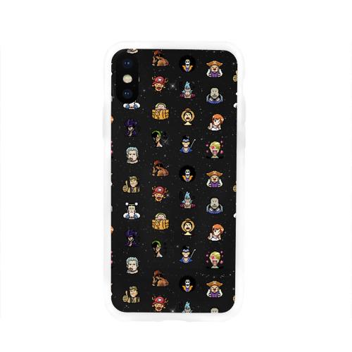 Чехол для Apple iPhone X силиконовый глянцевый